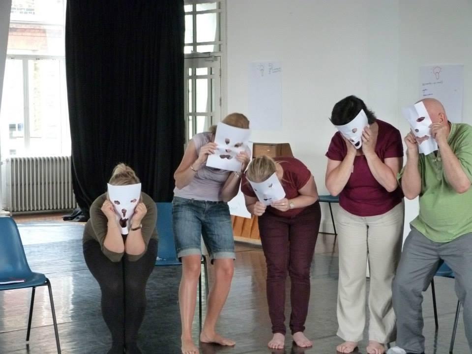 commedia-paper-masks