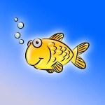 كيفية رسم سمكة