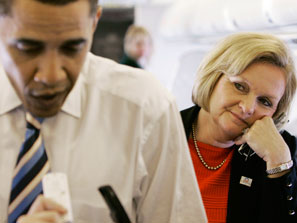 Claire McCaskill Loves Obama, Loves Him Not