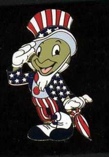 Uncle Sam Jiminy Cricket