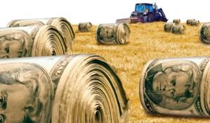 A Trillion Bucks Doesn't Buy Much Farm Subsidy