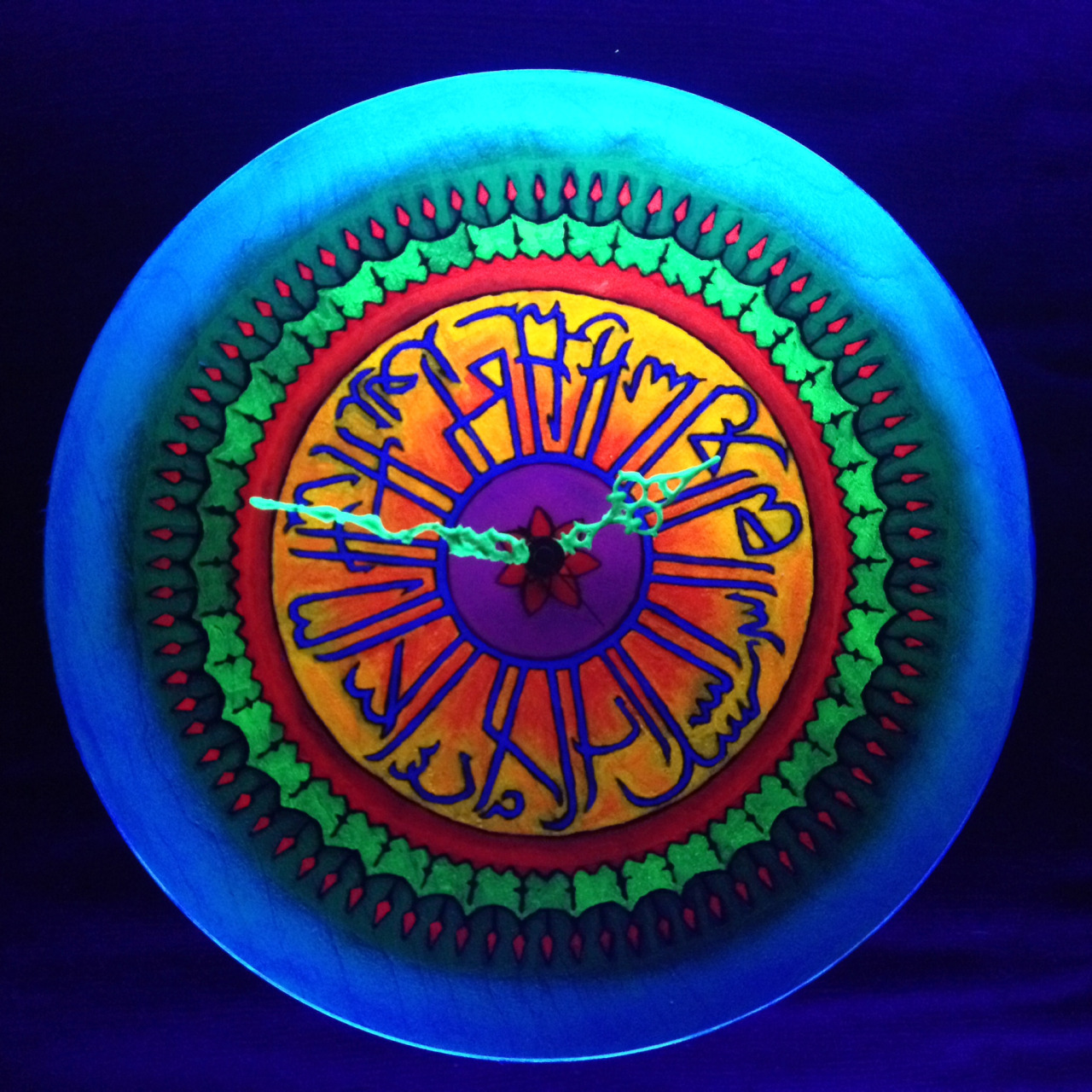 Blacklight Art