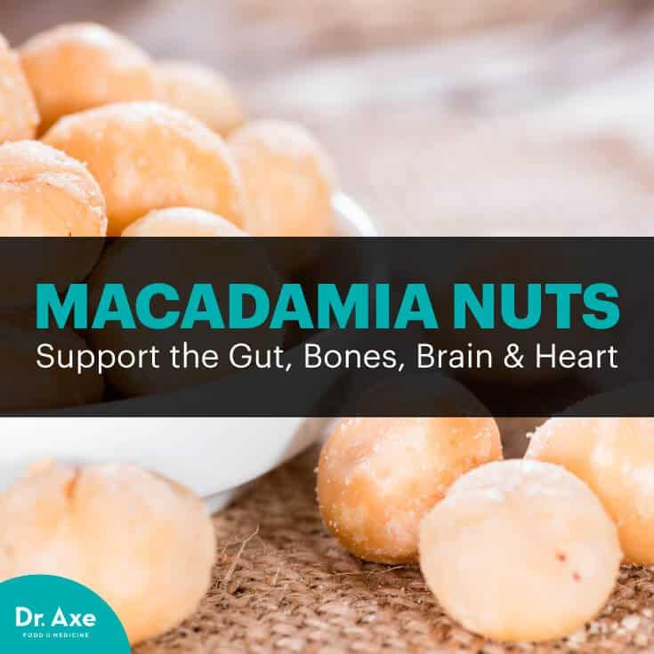 Macadamia nuts - Dr. Axe