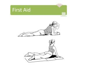 low back first aid