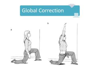 corrective exercise for global correction
