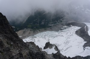Depot Glacier from Redoubt