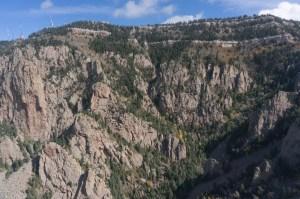 Upper La Cueva Canyon from Thumb
