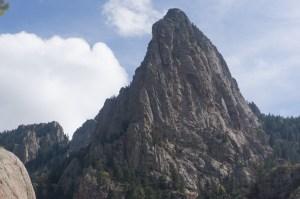 Thumb with NW ridge on left