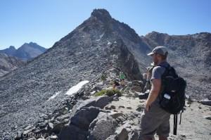 Glen Pass crowd and Glacier Spike