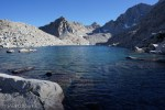 Haeckel behind Blue Heaven Lake