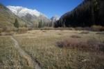 Lake Creek valley narrowing