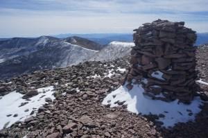 Phoenix summit cairn