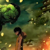 Luffy vs Hulk