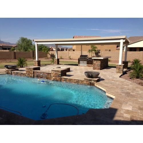 Medium Crop Of Backyard Landscape Ideas With Pool