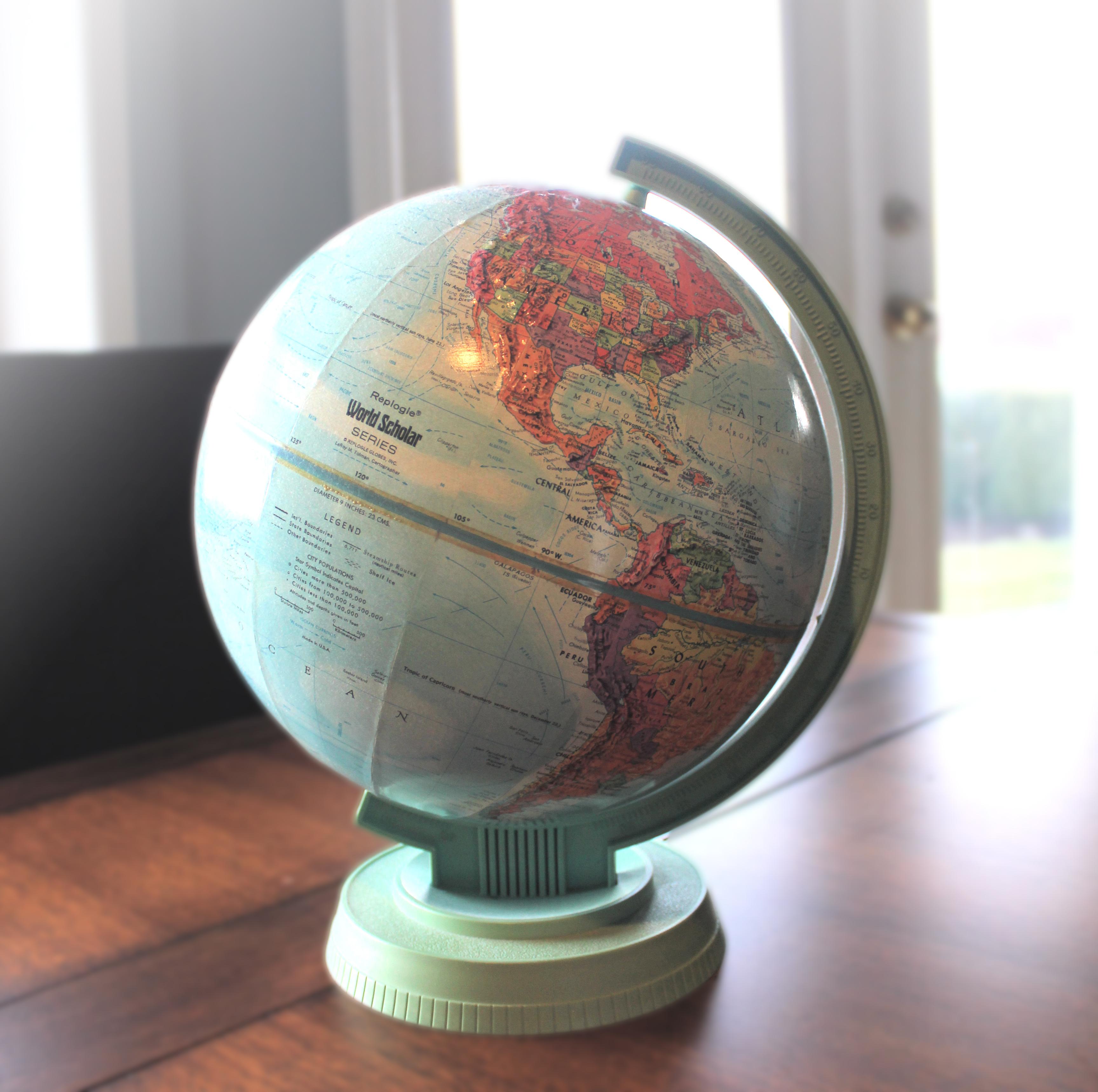 Как сделать глобус своими руками фото