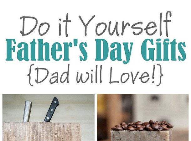 Do It Yourself Project: A Do It Yourself Father's Day {DIY Gift Projects, Recipes