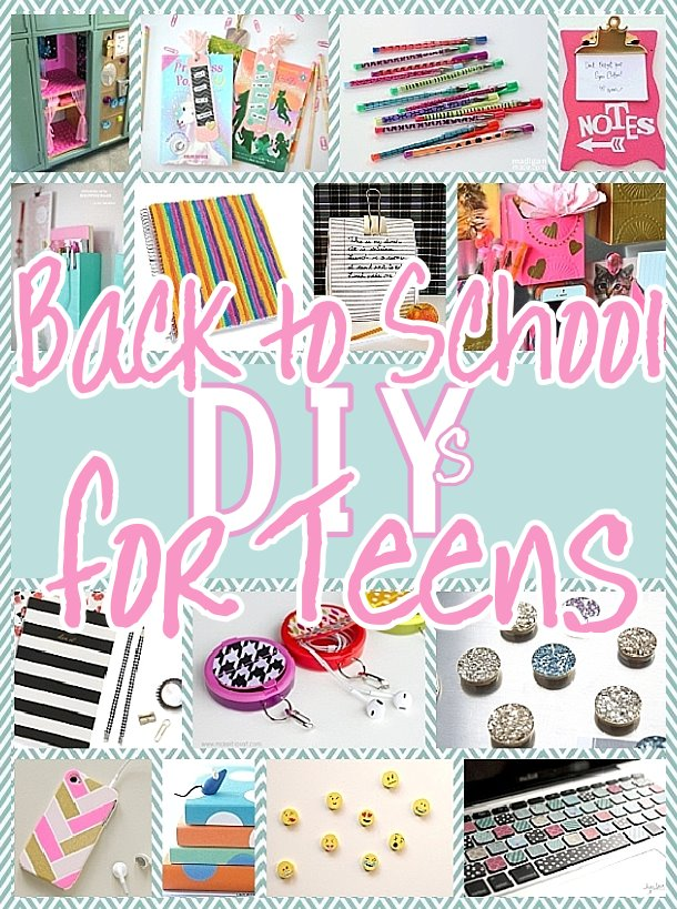 The best back to school diy projects for teens and tweens for Locker decorations you can make at home
