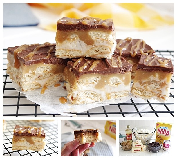 No Bake TWIXIE Cookie Bars – Caramel, Chocolate, Mini ...