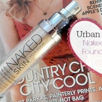 Review : Urban Decay Naked Skin Foundation