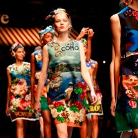 MFW: Dolce and Gabbana Sing L'Amore Italia for Spring