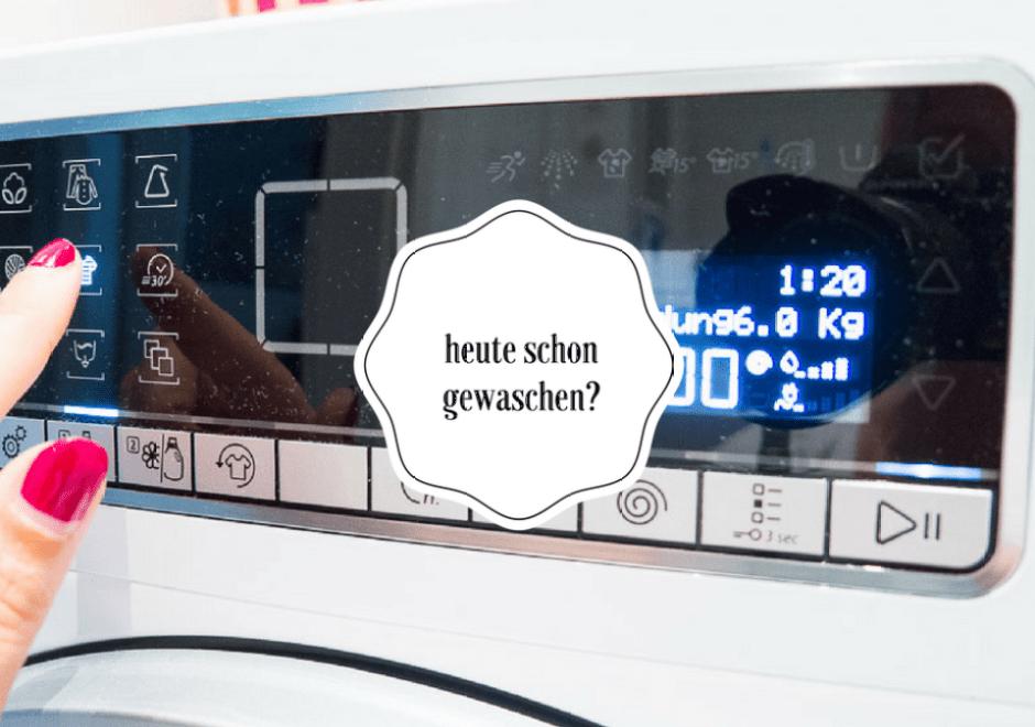 Warum Waschmaschinen hip sind und warum Ihr mit mir shoppen und sparen könnt?! Bauknecht PremiumCare ShoppingBonus Aktion
