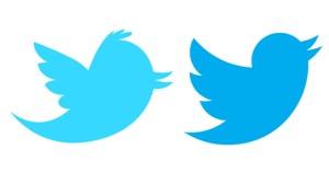 Comparación logos Twitter
