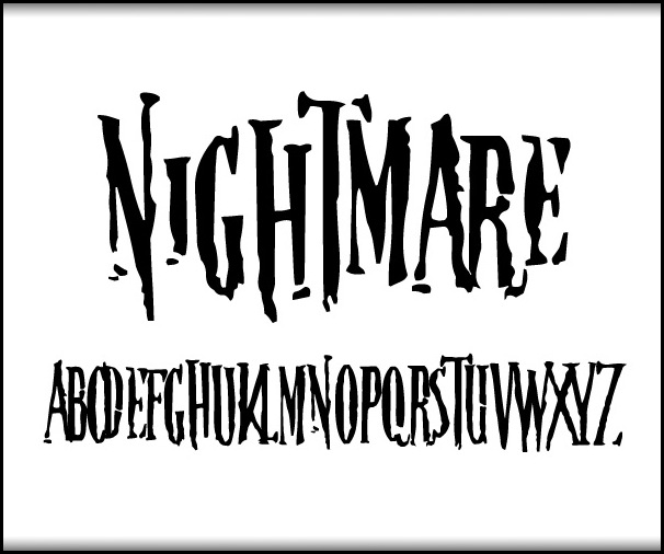 20 tipografías de halloween