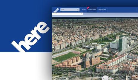 Nokia Here y mapa en 3D