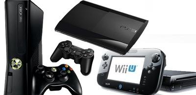 PS3, Xbox360 y Wii U
