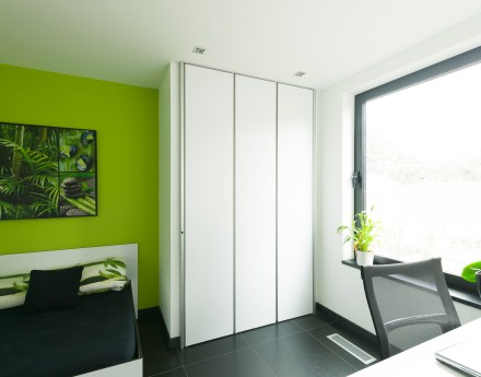 Inbouwkasten op maat slaapkamer volledige hoogte