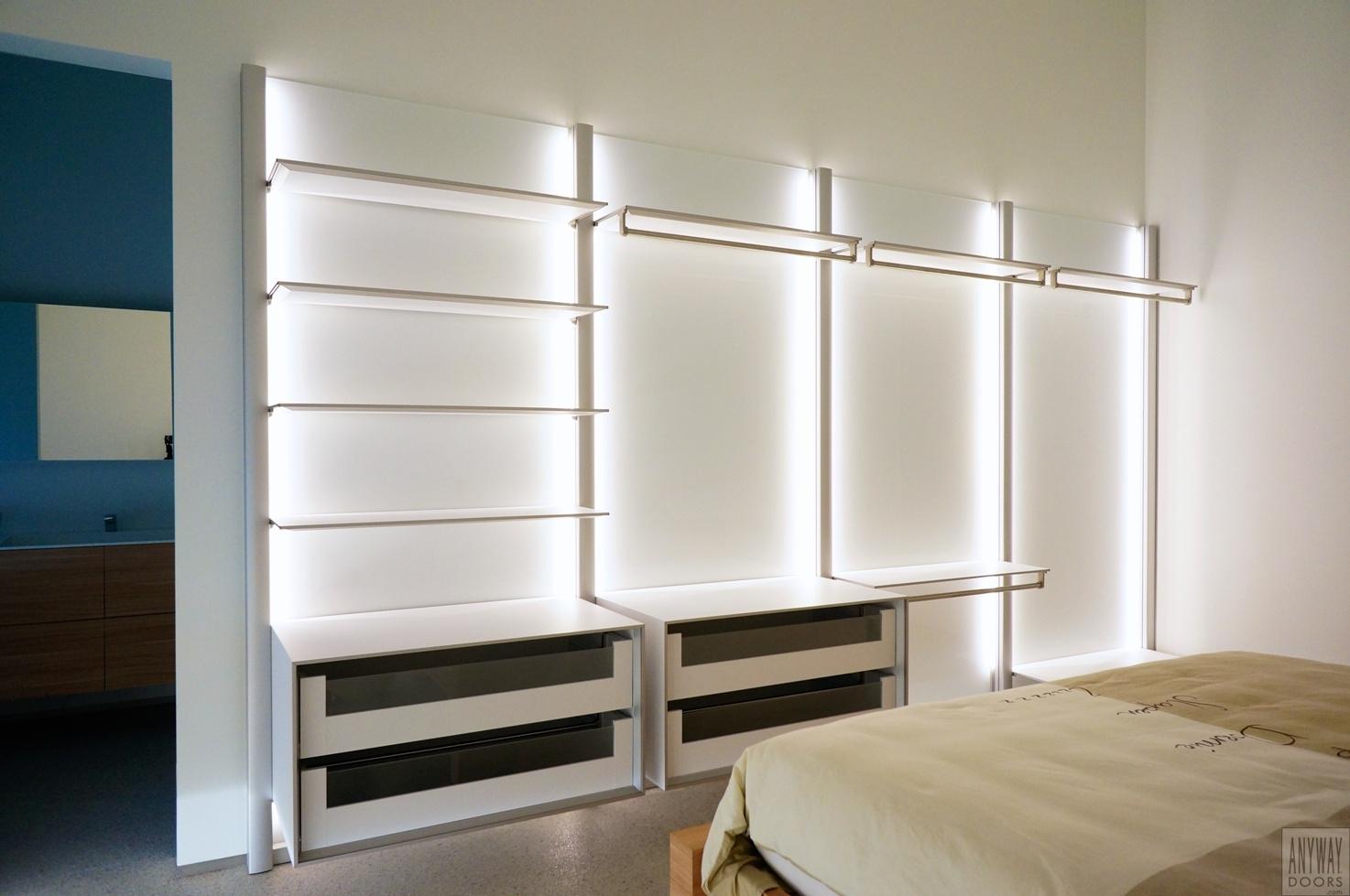 Slaapkamer met inloopkast op maat