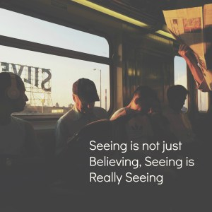 What Do We See?