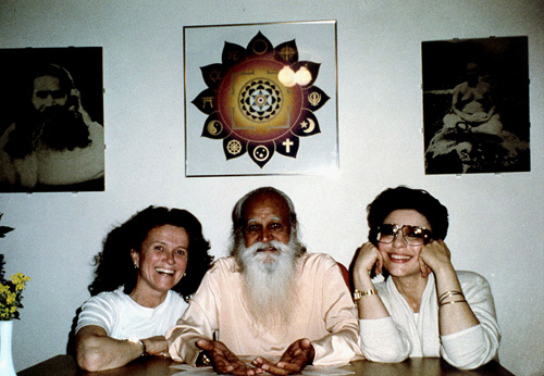 Tara Guber, Swami Satchidananda and Dr. Gross