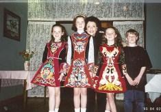 Dr. Gross with children in Ireland