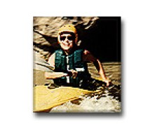 Dr. Gross kayaking in the Green River