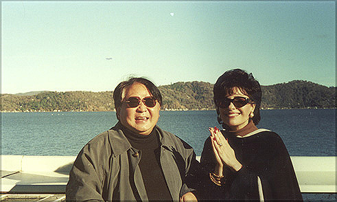 Sogyal Rinpoche and Dr. Gross