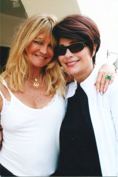 Goldie Hawn with Dr. Gross in India on Dr. G's Birthday