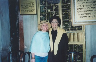 Sharon Bush and Dr. Gross in Israel