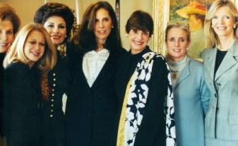 Alma Gildenhorn, Unknown Person, Dr. Gross, Beth Dezoretz, Marleen Malek, Debbie Dingell, Christy Gorden