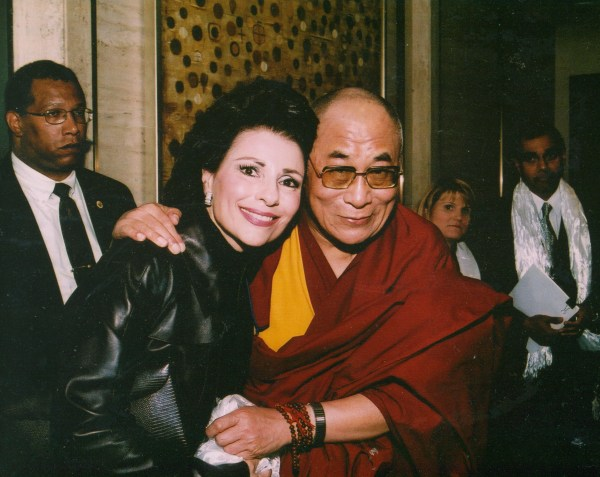 Dr. Gross and his holiness the Dalai Lama