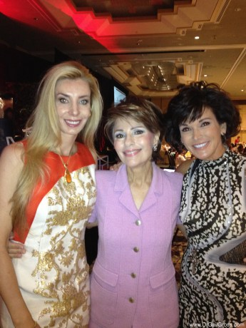 Dr Gross with Melani Walton (left) and Missy Anderson (right) at the Arizona Foundation for Women Sandra Day O'Connor Luncheon 2013