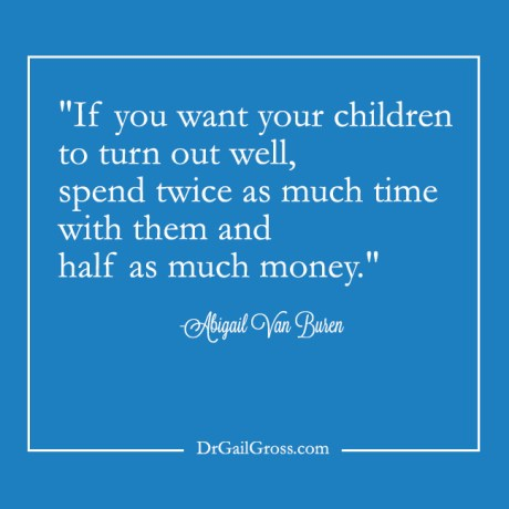 Spend time with your children