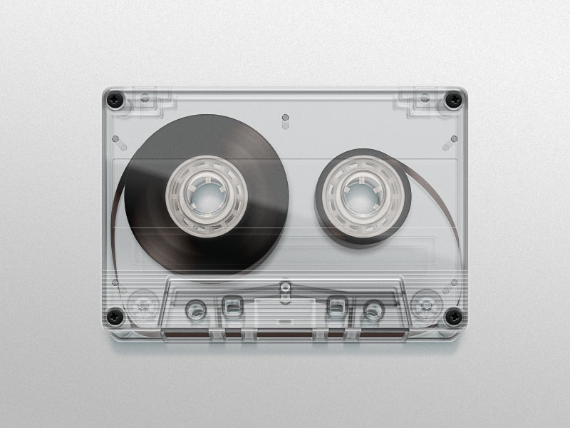 cassette hres 30 Stunningly Pixel Perfect Digital Illustrations