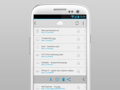 Floccus - CloudApp client for Android