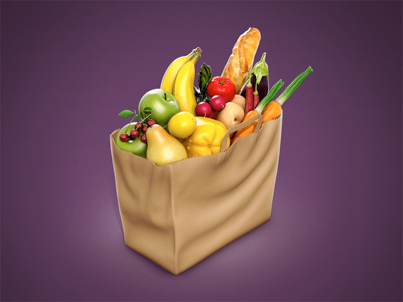 small 25 Gorgeous 3D Fruit & Vegetable Illustrations