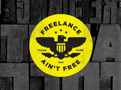 freelance aint 20 Stylish Retro Logos | Inspiration