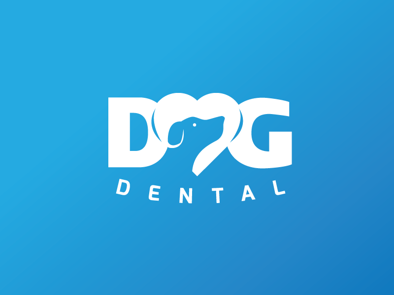 dog dental 30 Clever Examples of Negative Space Logos