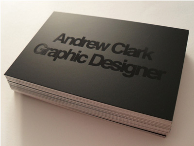 dribble 1 1 15 Sleek Examples of Black Business Cards