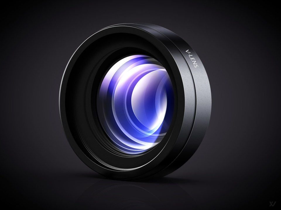V LENS Lens Icon by Vilen (Full Size) 30 Stunningly Detailed Mac Icons