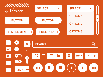 simplistic ui kit 20 Beautiful, Free UI Kits to Download